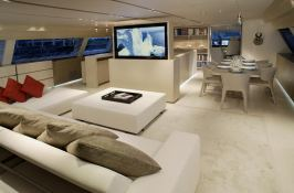 Red Dragon  Alloy Yachts Sloop 52M Interior 3