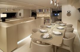 Red Dragon  Alloy Yachts Sloop 52M Interior 4