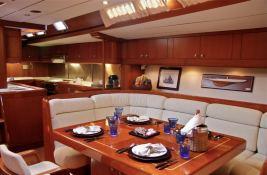 Aspiration  Nautor's Swan Yacht 86' Interior 1