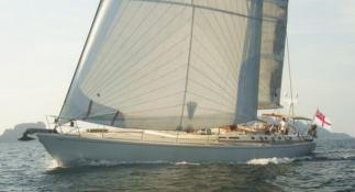 Aspiration  Nautor's Swan Yacht 86' Exterior 1
