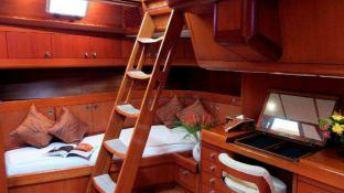 Aspiration  Nautor's Swan Yacht 86' Interior 8