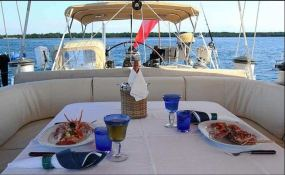 Aspiration  Nautor's Swan Yacht 86' Interior 9