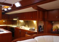 Aspiration  Nautor's Swan Yacht 86' Interior 13