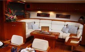 Aspiration  Nautor's Swan Yacht 86' Interior 15