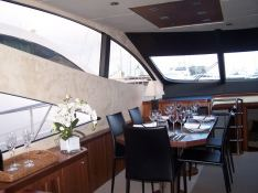 Manhattan 73' Sunseeker Interior 1