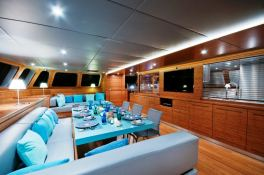 Che Sunreef Catamaran Sail 113' Interior 3