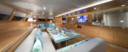 Che Sunreef Catamaran Sail 113' Interior 2