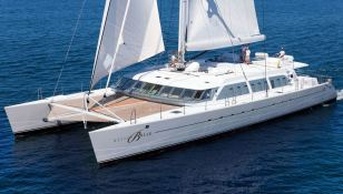 Necker Belle  CMN Catamaran 32M Exterior 2