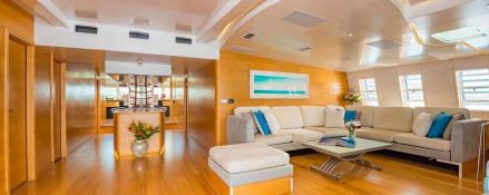 Bella Vita (ex Necker Belle) CMN Catamaran 32M Interior 3