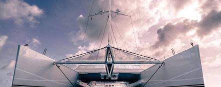 Bella Vita (ex Necker Belle) CMN Catamaran 32M Exterior 1