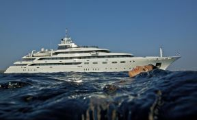 Omega  Mitsubishi Yacht 82M Exterior 1
