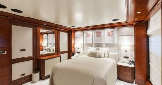 Omega  Mitsubishi Yacht 82M Interior 1