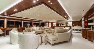 Omega  Mitsubishi Yacht 82M Interior 5