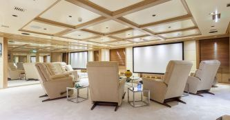 Omega  Mitsubishi Yacht 82M Interior 6