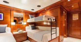Omega  Mitsubishi Yacht 82M Interior 7