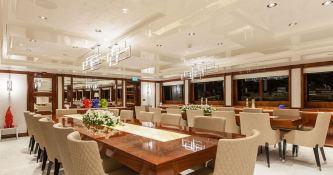 Omega  Mitsubishi Yacht 82M Interior 8