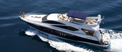 Princess Kitana  Sunseeker Yacht 75' Exterior 2