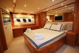 Princess Kitana  Sunseeker Yacht 75' Interior 4