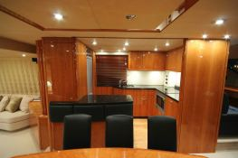 Princess Kitana  Sunseeker Yacht 75' Interior 2
