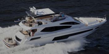 Glasax  Sunseeker Yacht 75' Exterior 1