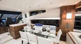 Glasax  Sunseeker Yacht 75' Interior 1