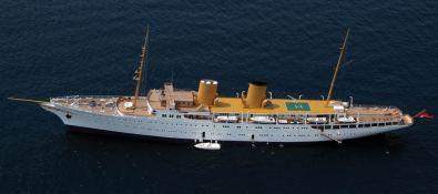 Savarona  Blohm & Voss Yacht 136M Exterior 2