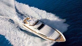 Camarik  Ferretti Yacht 34M Exterior 1
