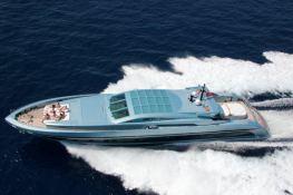 Blue Princess Baglietto Yacht 115' Exterior 2