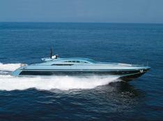 Blue Princess Baglietto Yacht 115' Exterior 1