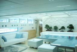 Blue Princess Baglietto Yacht 115' Interior 1