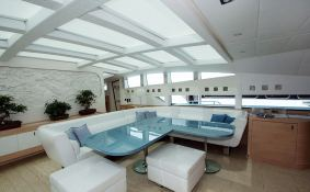 Blue Princess Baglietto Yacht 115' Interior 2
