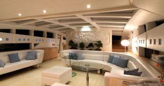 Blue Princess Baglietto Yacht 115' Interior 3