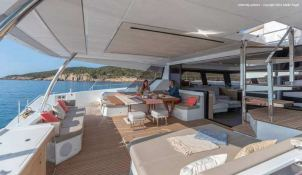 BLACK CAT  Fountaine Pajot Victoria 67' Interior 12
