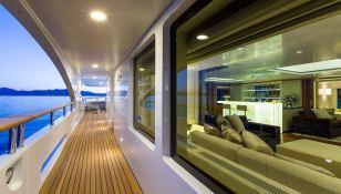 Galaxy Benetti Yacht 56M Interior 1