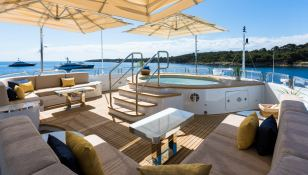 Galaxy Benetti Yacht 56M Interior 4