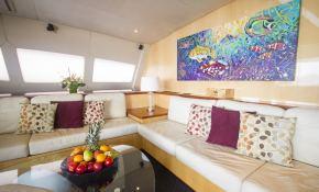 Kings Ransom  Matrix Catamaran Silhouette 76' Interior 4