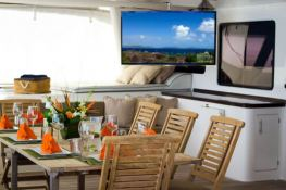 Kings Ransom  Matrix Catamaran Silhouette 76' Interior 8