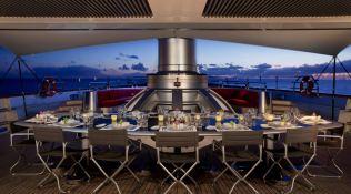 Maltese Falcon Perini Navi Yacht 88M Interior 1