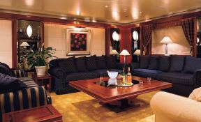 Lauren L (ex Constellation) Cassens-Werft Yacht 90M Interior 1