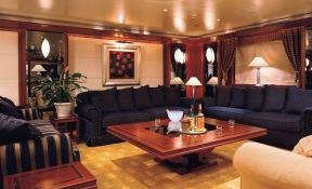 Lauren L (ex Constellation) Cassens-Werft Yacht 90M Interior 1