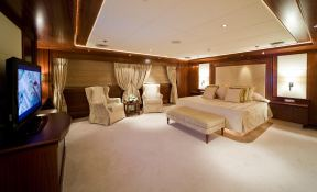 Lauren L (ex Constellation) Cassens-Werft Yacht 90M Interior 5