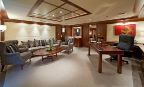 Lauren L (ex Constellation) Cassens-Werft Yacht 90M Interior 4