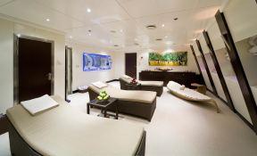 Lauren L (ex Constellation) Cassens-Werft Yacht 90M Interior 7