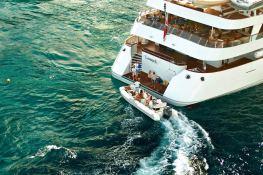 Lauren L (ex Constellation) Cassens-Werft Yacht 90M Exterior 2