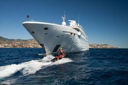 Lauren L (ex Constellation) Cassens-Werft Yacht 90M Exterior 3