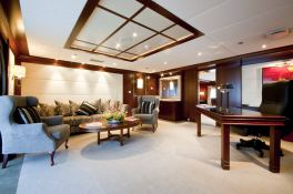 Lauren L (ex Constellation) Cassens-Werft Yacht 90M Interior 7