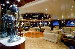 Lauren L (ex Constellation) Cassens-Werft Yacht 90M Interior 9
