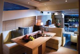 Manhattan 63' Sunseeker Interior 2