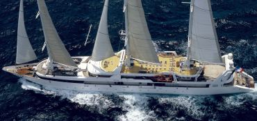 Le Ponant  SFCN Yacht 88m Exterior 2