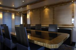Hokulani  Palmer Johnson Yacht 150' Interior 3